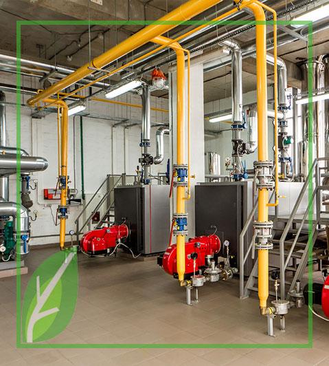 instalacion de gas industrial